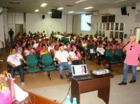 Palestras sobre o câncer de mama serão realizadas na Câmara Municipal