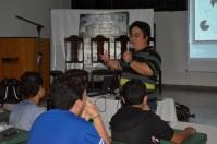 Alunos do ensino médio integram as atividades do 1º SeComp. Foto: Cálita Fernanda