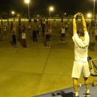 Exercícios sem acompanhamento podem ser perigosos para a saúde Foto: Laura Cristina