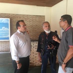 Prefeitura recebe visita do Secretário Estadual deTurismo