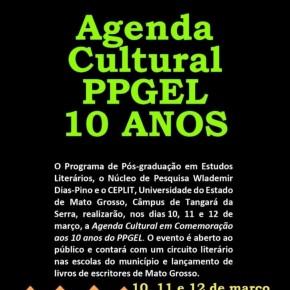 PPGEL organiza agenda cultural em comemoração aos 10anos
